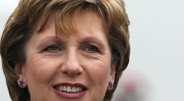 Irish President Mary McAleese has said that people in Northern Ireland should build relationships across the sectarian divide
