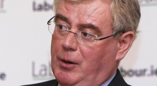 Eamon Gilmore has disputed claims that support for the Labour Party is dwindling