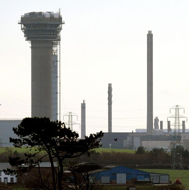 The MOX fuel plant at Sellafield