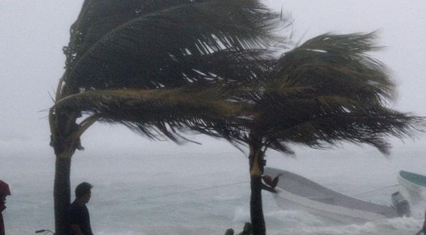 Forecasters say Jova is gaining strength in the Pacific Ocean (AP)