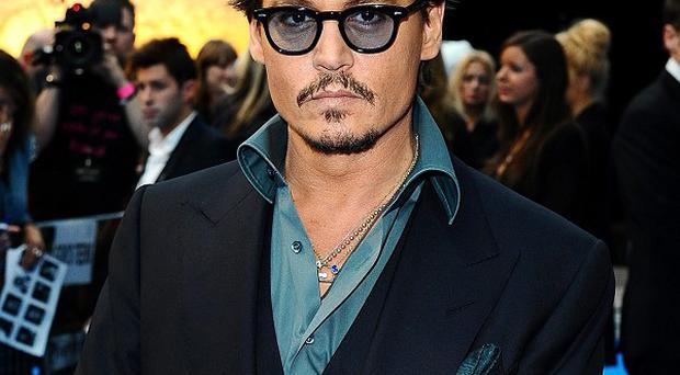 Johnny Depp will next be seen in The Rum Diary
