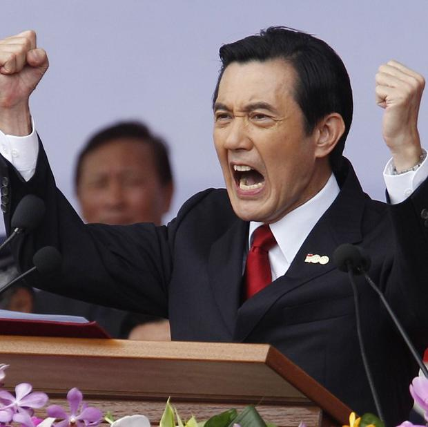 Taiwan's president Ma Ying-jeou called on China to respect his country's right to self-determination