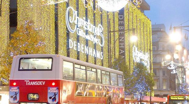 Debenhams has announced it will recruit 6,500 temporary workers to deal with the busy Christmas period