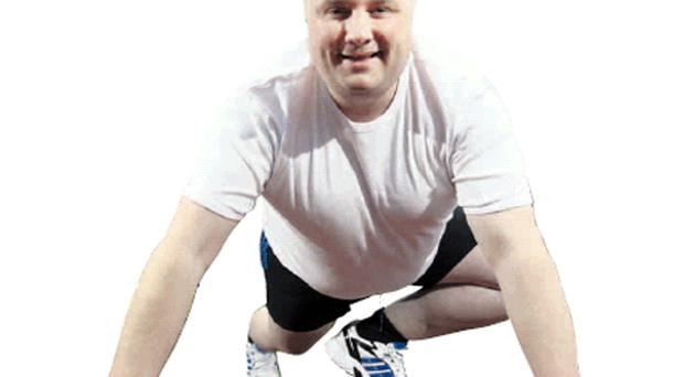 Fighting the flab: BBC presenter Stephen Nolan