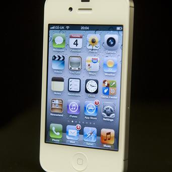 Apple's iPhone 4S which has set a sales record