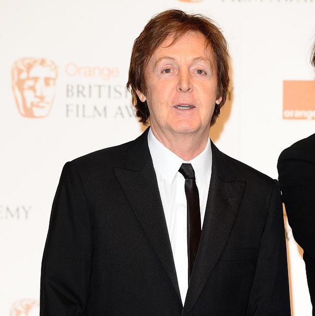 Newlywed Sir Paul McCartney is off on the road again