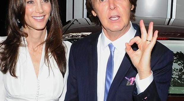 Sir Paul McCartney and his new wife Nancy Shevell had to turn down the noise of their wedding reception after neighbours complained
