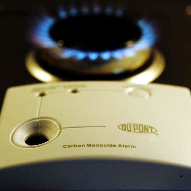 There were 50 incidents involving carbon monoxide poisoning in the 12 months to the end of June, a report has revealed