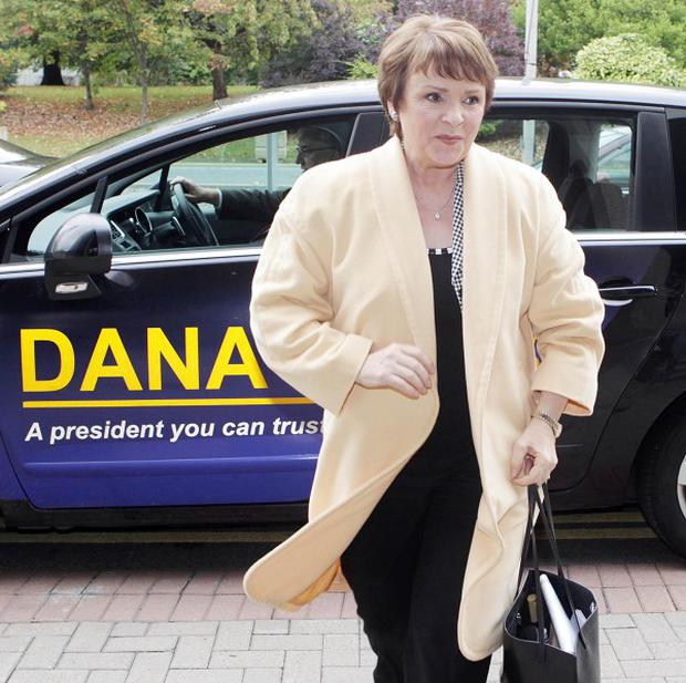 Presidential Candidate Dana Rosemary Scallon says questions about her US citizenship are 'too hurtful'