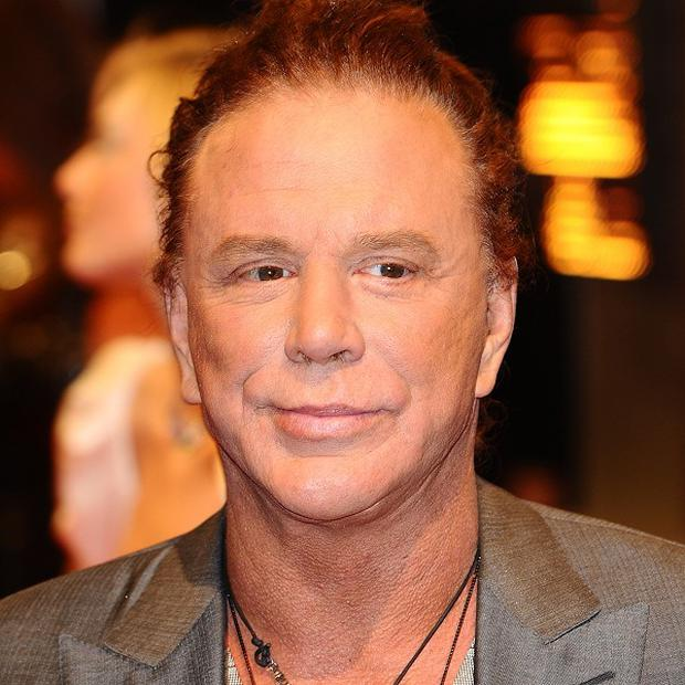 Mickey Rourke is starring in Java Heat