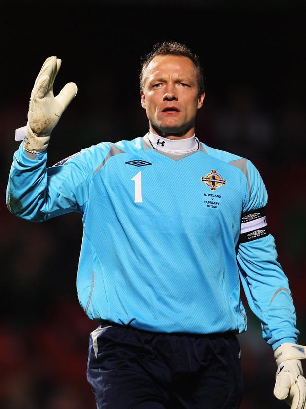 <b>Maik Taylor - 8</b><br /> An ill-fitting end to an illustrious international career, Taylor was given little chance with the pin-point finishes for Cassano's goals but made three smart saves.