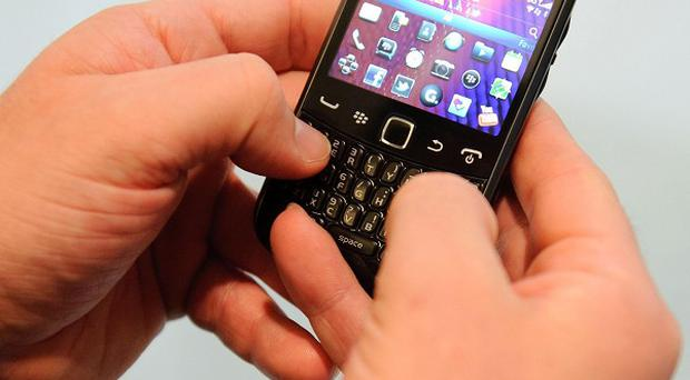 BlackBerry users had their service interrupted by a mystery fault
