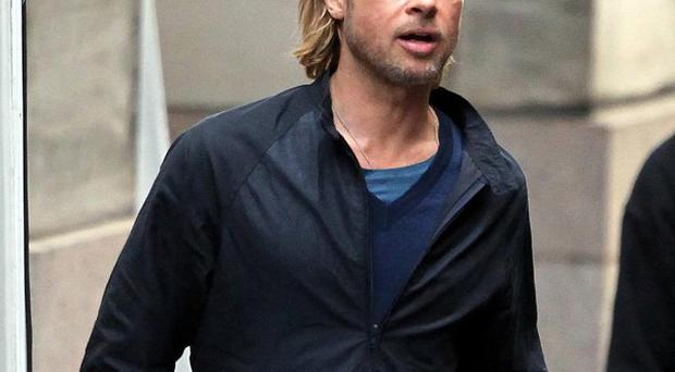 Brad Pitt is now filming World War Z in Hungary