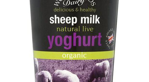 <b>1. Woodlands Organic Sheep's Milk</b><br/> Just because you're allergic to cows' milk doesn't mean you have to miss out on yoghurt fun. Plump for this sheep's milk offering, which is packed full of healthy bacteria. <b>Price: £2.12, ocado.com</b>