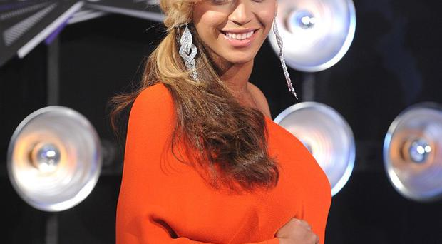 Beyonce is due to give birth in February