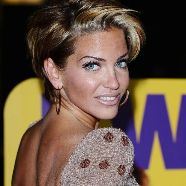 Sarah Harding is reported to have recently split up with boyfriend DJ Tom Crane