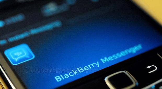Users of BlackBerry mobile phones are enduring a third day of faults (AP)