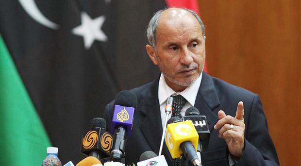 Libya's de facto leader Mustafa Abdul-Jalil is predicting victory over Muammar Gaddafi's troops within a week (AP)