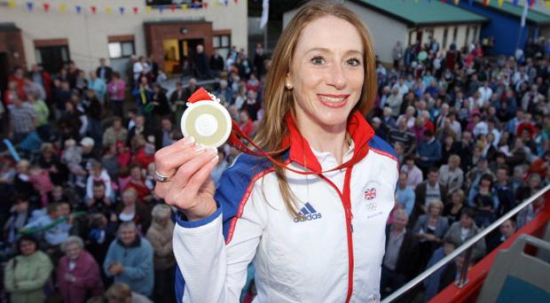 Wendy Houvenaghel only took up cycling seriously eight years ago. Next year she goes for gold at the Olympic Games