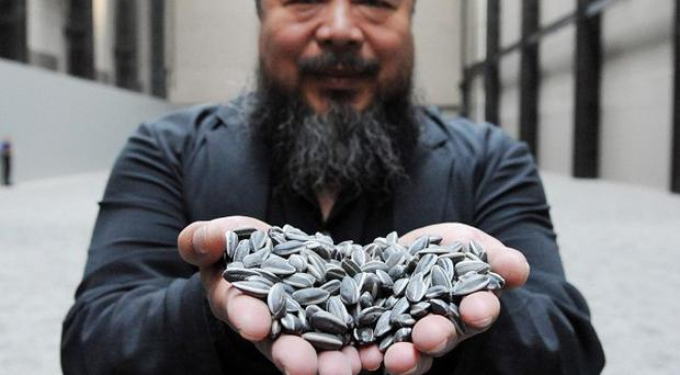 Ai Weiwei has been ranked the most powerful person in the art world in a survey