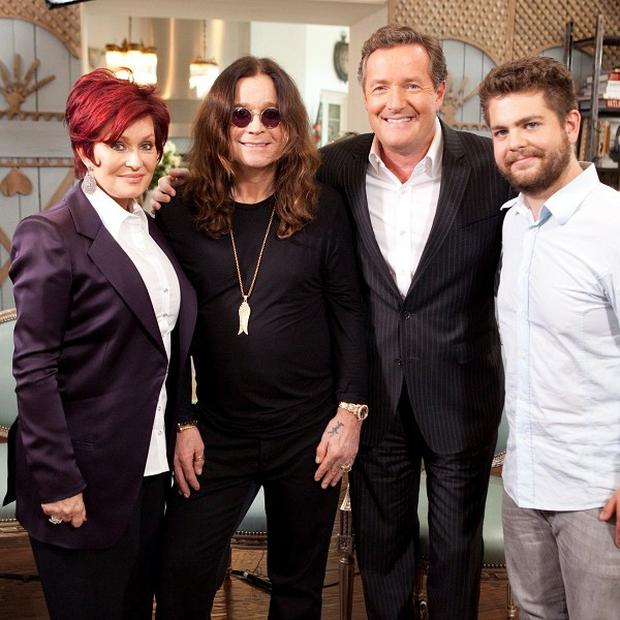 The Osbournes were appearing on Piers Morgan's US show