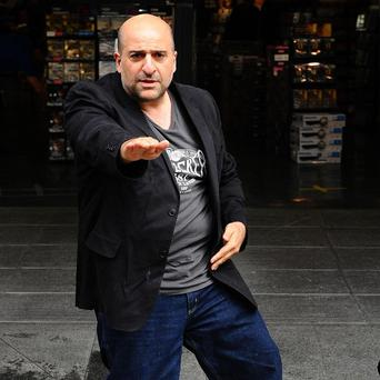 Omid Djalili is nervous about his tour