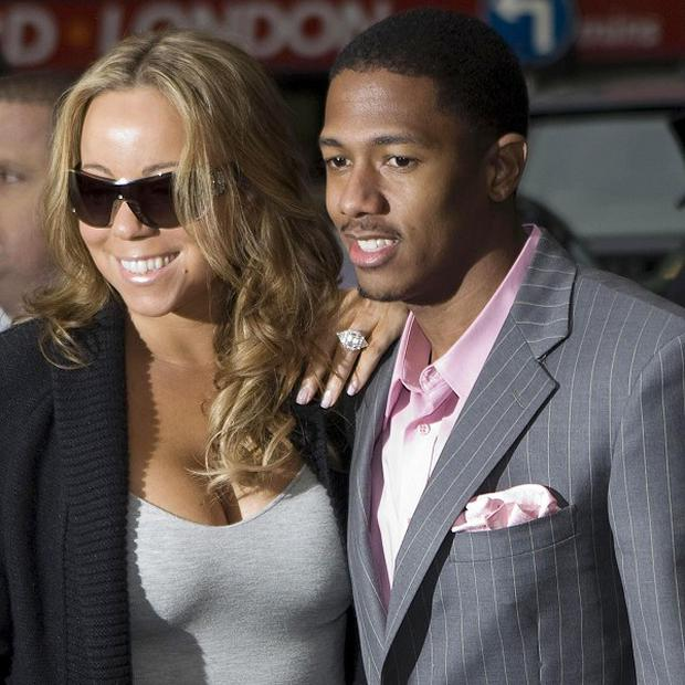 Mariah Carey and husband Nick Cannon were dining out in New York