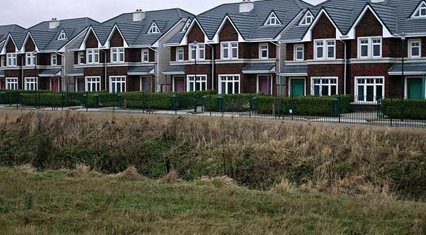 There has been a fall in the number of ghost estates around the country, a survey has revealed