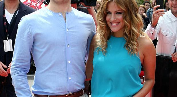 Olly Murs enjoys spending time with co-host Caroline Flack