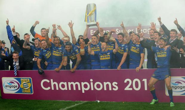 Leeds Rhinos charged their way to a grand victory in the Super League Grand Final treating the Saints very badly