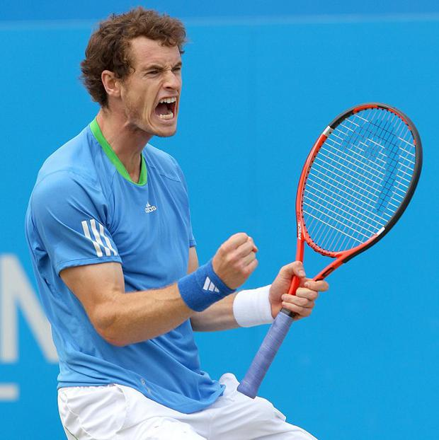 Andy Murray faces the prospect of a meeting with Rafael Nadal