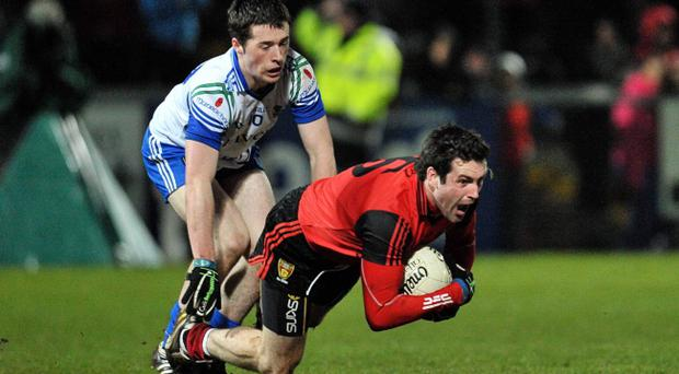 Kevin McKernan hopes Burren can retain their Down title before he joins the Ireland team Down Under