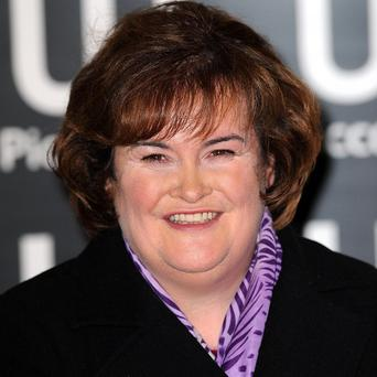 Susan Boyle has received raunchy post from some of her fans
