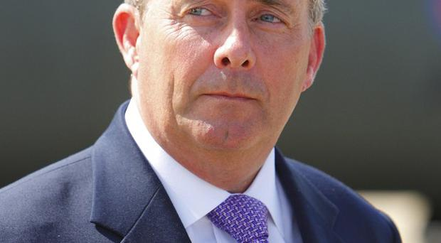 Liam Fox said he attended a dinner in Washington with senior figures from the defence industry in a 'private capacity'