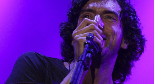 Gary Lightbody of Snow Patrol, who will star in a free gig in Belfast as part of MTV's Europe Music Awards