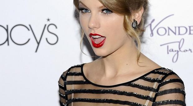 Taylor Swift launched her debut fragrance Wonderstruck at Macy's