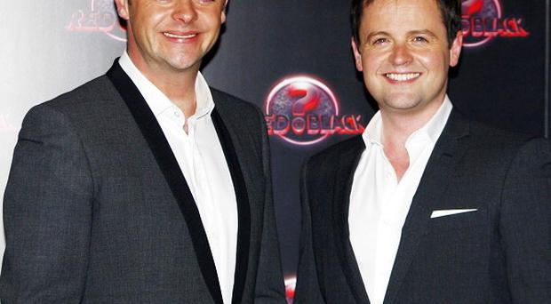 Ant and Dec hosted Red or Black? last month