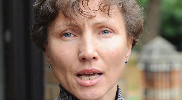 Marina Litvinenko, the widow of murdered Russian dissident Alexander Litvinenko
