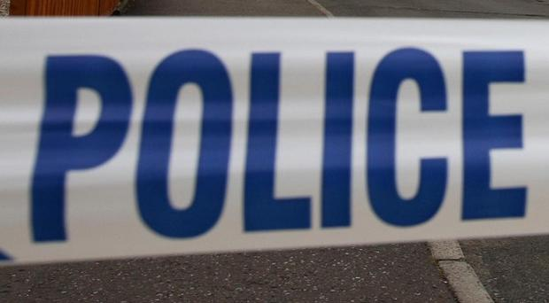 Police were called to a business in Cambridgeshire to find a man apparently armed with an axe