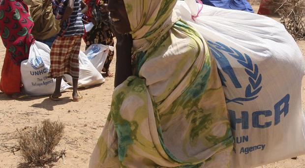 The Disasters Emergency Committee appeal was launched 100 days ago for starving people in Ethiopia, Kenya, Somalia and the Republic of South Sudan (AP)