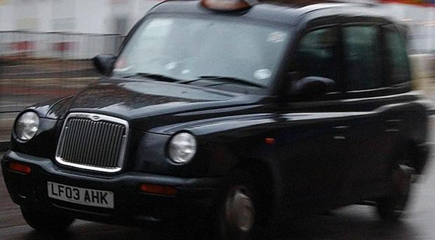Inmates have been moved between prison and court in black taxi cabs after a security firm's computer systems failed