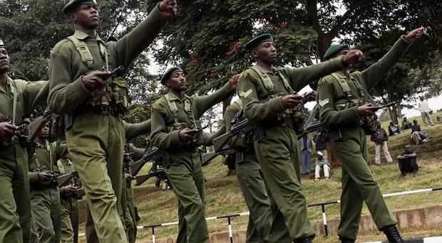 Kenya Army soldiers have moved into southern Somalia (AP)