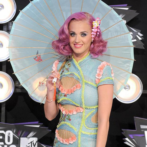 Katy Perry loves her British comfort food