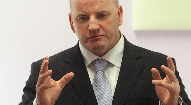 Sean Gallagher has opened up a lead in the race for the Aras, a poll showed