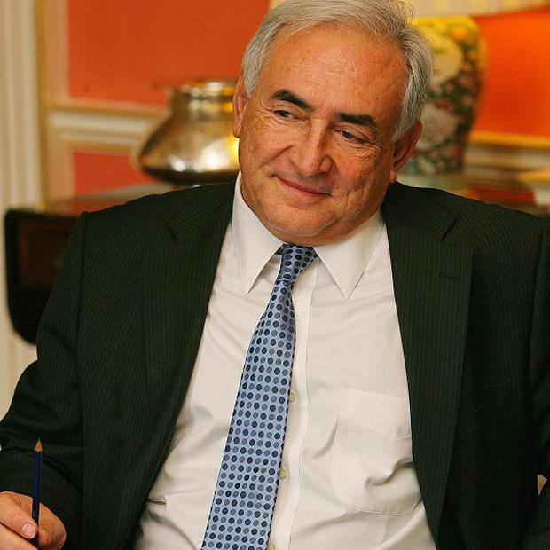Former IMF head Dominique Strauss-Kahn who has demanded the opportunity to clear his name from a hotel vice-ring scandal