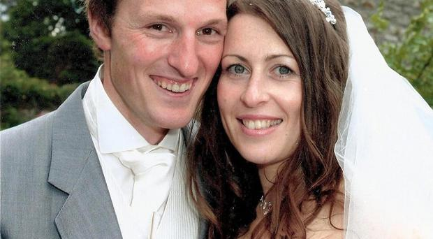 Ben and Catherine Mullany were both shot on the holiday island of Antigua a fortnight after their wedding day