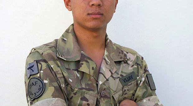 Rifleman Vijay Rai, from the 2nd Battalion, The Royal Gurkha Rifles, was killed in Afghanistan