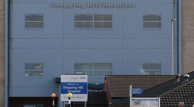 The contamination of saline solution is believed to have poisoned 17 people at Stepping Hill Hospital