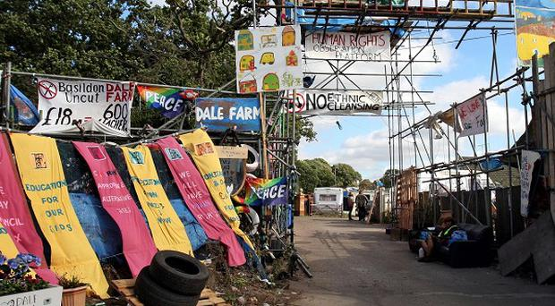 Travellers from Dale Farm, Essex, have been refused permission to appeal against a ruling that gave Basildon Council the go-ahead to evict them