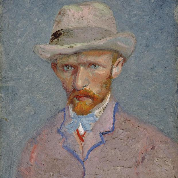 A self-portrait of Vincent van Gogh dated 1887(AP)